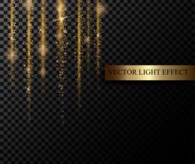 light curtain illustration vector material 01