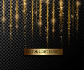 light curtain illustration vector material 02