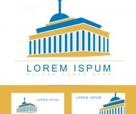 university or library logo vector