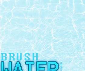 20 Kind Water Texture Photoshop Brushes