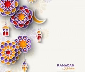 2018 Ramadan kareem festival vector material 08