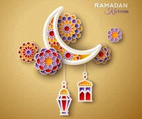 2018 Ramadan kareem festival vector material 11