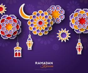 2018 Ramadan kareem festival vector material 12
