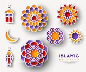 2018 Ramadan kareem festival vector material 13
