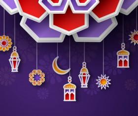 2018 Ramadan kareem festival vector material 14