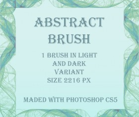Abstract Frame Photoshop Brushes