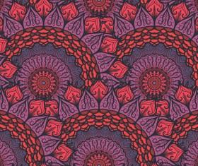 Aztec ethnic seamless pattern vector 02