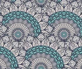 Aztec ethnic seamless pattern vector 03