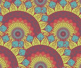 Aztec ethnic seamless pattern vector 04