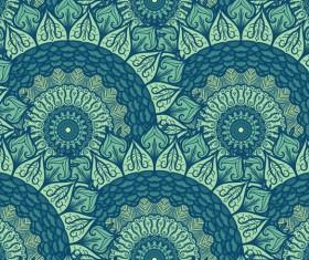 Aztec ethnic seamless pattern vector 08