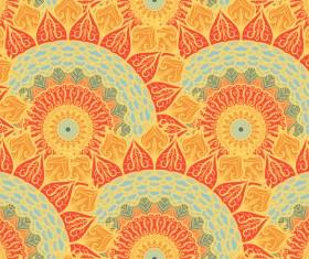 Aztec ethnic seamless pattern vector 09