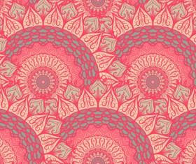 Aztec ethnic seamless pattern vector 11