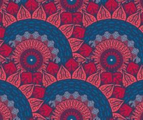 Aztec ethnic seamless pattern vector 12