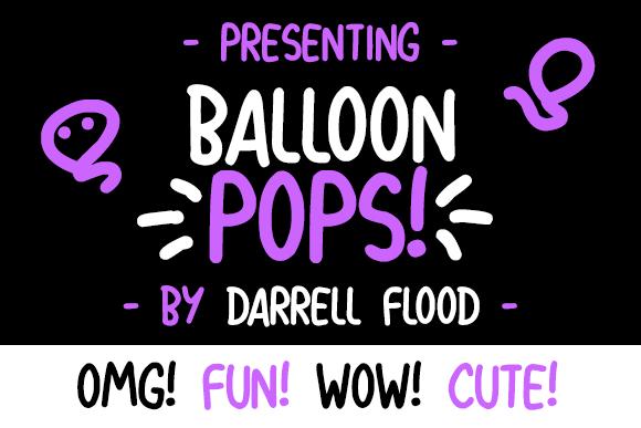Balloon Cartoon Font