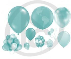 Balloons Photoshop Brushes