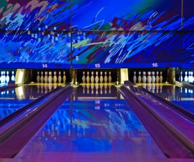 Bowling alley Stock Photo 01