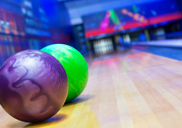 Bowling alley Stock Photo 03