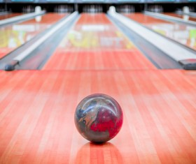 Bowling alley Stock Photo 04