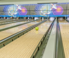 Bowling alley Stock Photo 05