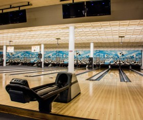 Bowling alley Stock Photo 06