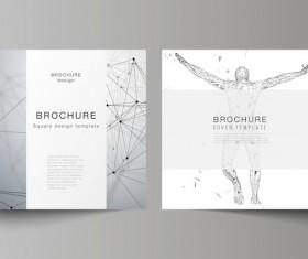 Bruchure cover vector template vectors 02