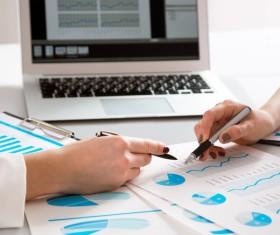 Business data analysis Stock Photo 01