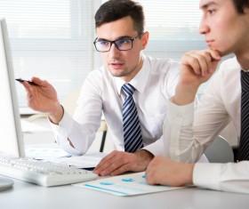 Business data analysis Stock Photo 02