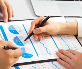 Business data analysis Stock Photo 03