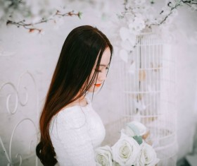 China bride wedding photography Stock Photo