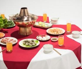 China delicious hot pot Stock Photo