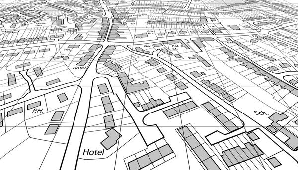 City housing map design vector 04