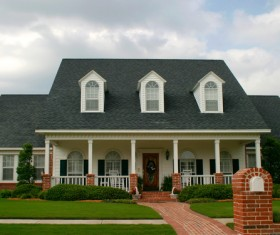 Classic style independent house Stock Photo 02