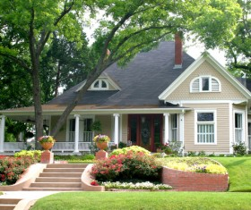 Classic style independent house Stock Photo 04
