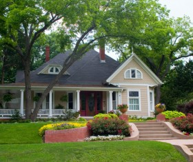 Classic style independent house Stock Photo 08