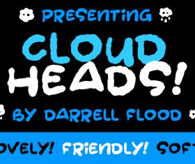 Cloud Heads Font