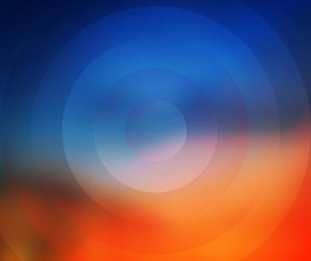 Colored round background vectors 01