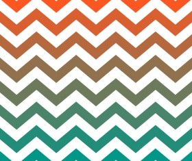Colored zigzag seamless patterns vector 03