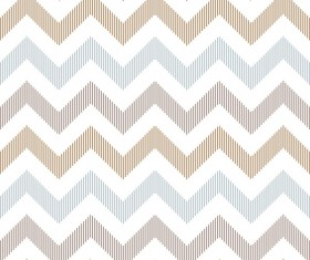 Colored zigzag seamless patterns vector 08