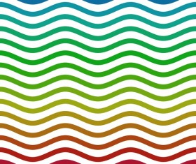 Colored zigzag seamless patterns vector 12