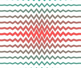 Colored zigzag seamless patterns vector 15