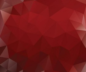 Creative polygonal backgrounds abstract vector 04