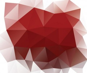 Creative polygonal backgrounds abstract vector 05