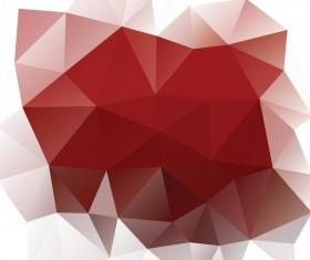 Creative polygonal backgrounds abstract vector 05