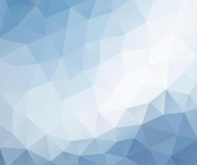 Creative polygonal backgrounds abstract vector 07