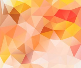 Creative polygonal backgrounds abstract vector 08