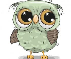 Cute cartoon owl vectors design 01