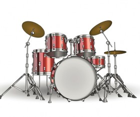 Drums illustration vectors material