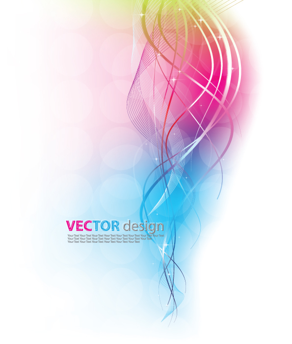 Elegant abstract background with star light vector