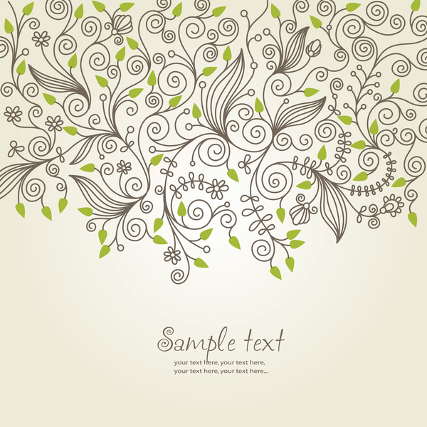 Elegant decorative backgrounds vectors 02