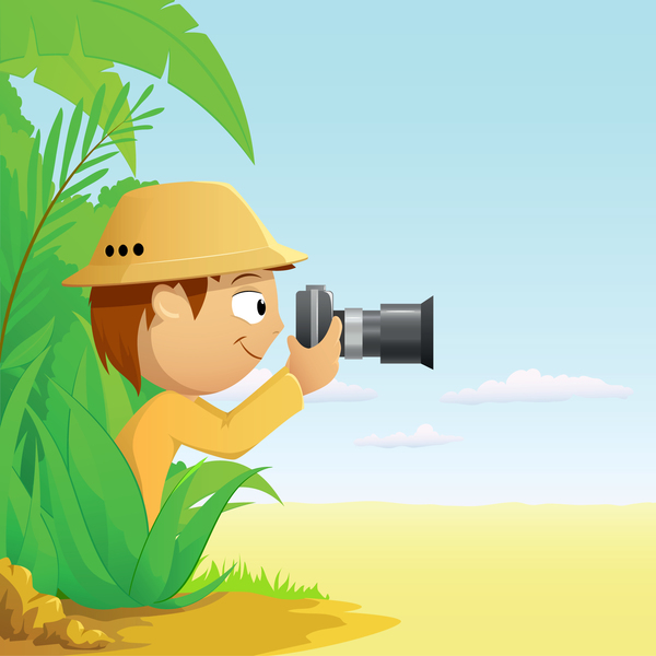 Explorer with natural vector
